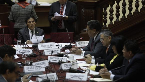 Comisión de Fiscalización y Contraloría. (Fotos: Anthony Niño De Guzmán)