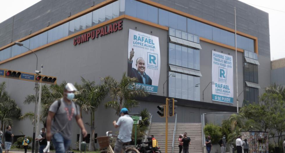 Las empresas de López Aliaga que no figuran en declaración ante JNE