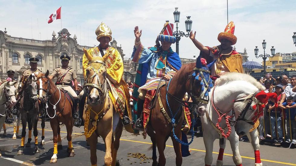 Volvieron los Reyes Magos (Liz Saldaña).