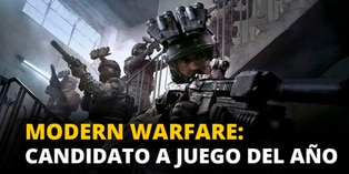 Modern Warfare: Candidato a juego del año [VIDEO]