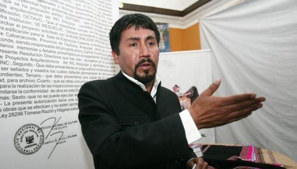Gobernador regional de Arequipa sostuvo que no le genera preocupación el mecanismo legal que pretende iniciar la minera en su contra. (Foto: GEC)