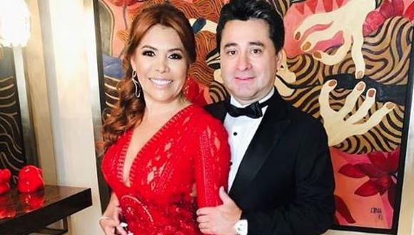 Magaly Medina y Alfredo Zambrano cuentan en divertido video cómo se enamoraron. (Foto:Instagram)
