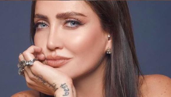Celia Lora, hija del rockero Alex Lora, también participa en el reality show La casa de los famosos (Foto: Celia Lora / Instagram)