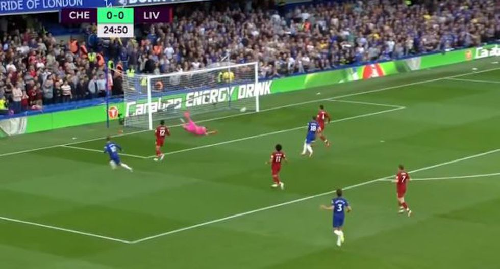 Eden Hazard abrió el marcado en el Chelsea-Liverpool por Premier League. (Foto: Captura YouTube)