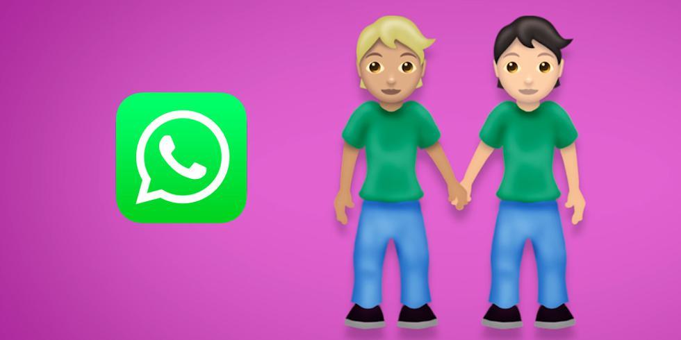 Conoce todos los emojis que no son ni hombre ni mujer y que llegarán en setiembre a WhatsApp. (Foto: Emojipedia)