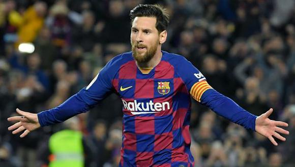 Lionel Messi renovará contrato con Barcelona, afirmó el presidente Josep Maria Bartomeu. (Foto: AFP)