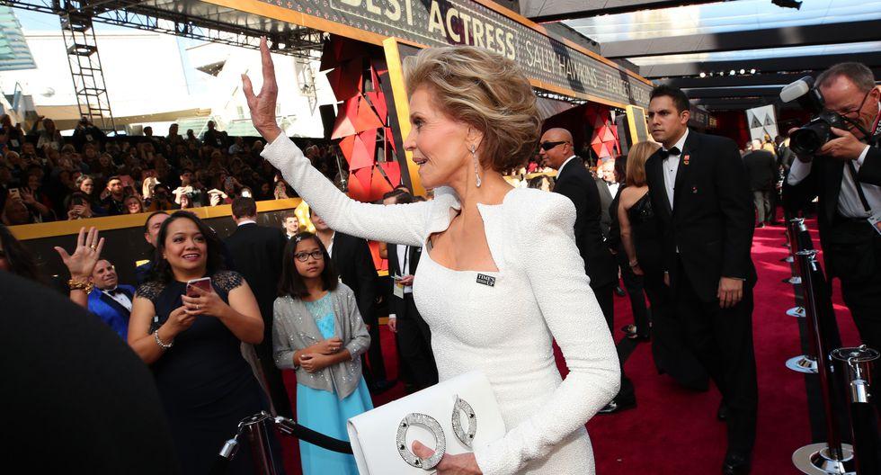 Elegante Jane Fonda. (AFP)