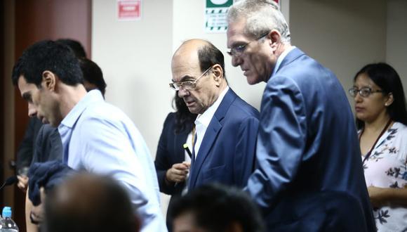 En la audiencia se presentaron Jorge Luis Menacho Pérez; Raúl Antonio Torres Trujillo; y el hijo de Miguel Atala, Samir Atala, quienes también se encuentran comprendidos en la detención preliminar.(Foto: Jesús Saucedo / GEC)
