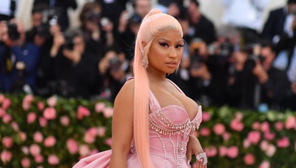"""Nicki Minaj se casó en secreto el año pasado con Kenneth """"Zoo"""" Petty y se conoció del nacimiento de su primer bebé. (Foto: Angela Weiss / AFP)."""