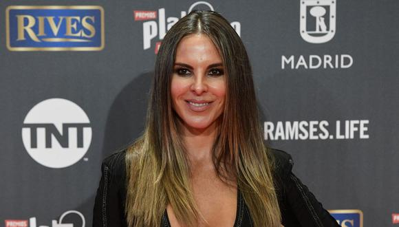 "Kate del Castillo es nominada a tres premios de teatro por ""The Way She Spoke"" (Foto: AFP)"