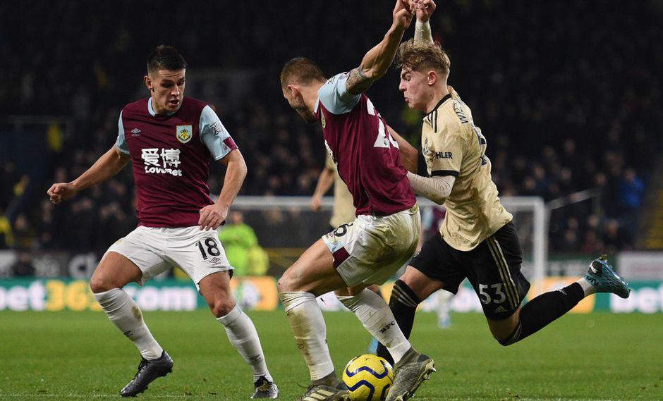 El último enfrentamiento entre Manchester United y Burnley terminó 2-0 a favor de los 'Diablos Rojos'. (Foto: AFP)
