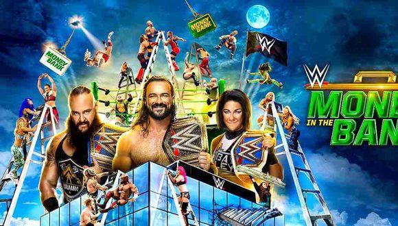 Sigue las incidencias de Money in the Bank 2020 este domingo 10 de mayo. (Foto: WWE)