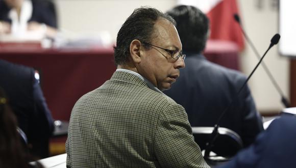 El ex funcionario Carlos García Alcázar es el único detenido en este caso. (César Campos)