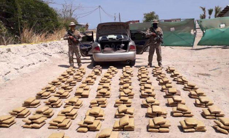 Hallaron cocaína y un laboratorio equipado para su elaboración en localidad colombiana, fronteriza con Venezuela. (Foto: Facebook Policía Nacional de los Colombianos)