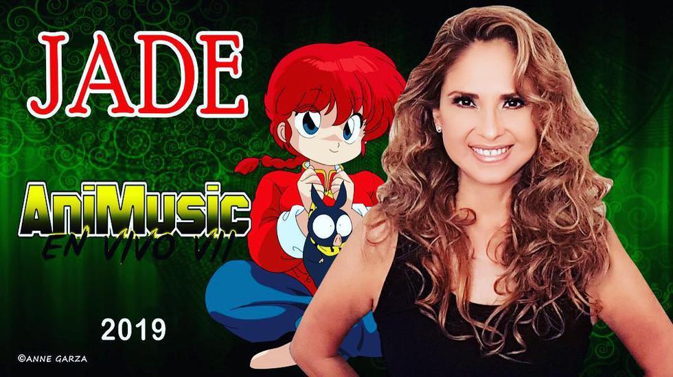 Jade: La cantante de música de anime con la que crecimos. (Instagram)