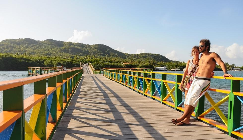 Colombia para los románticos. Reconocido mundialmente por sus hermosas playas es ideal para aquellas parejas románticas que quieren disfrutar tiempo cerca al mar. (Foto: Difusión)