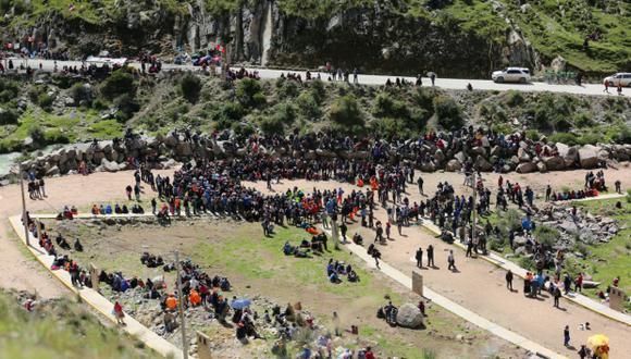 Aún no hay acuerdo en Fuerabamba. (Foto: Antonio Álvarez)