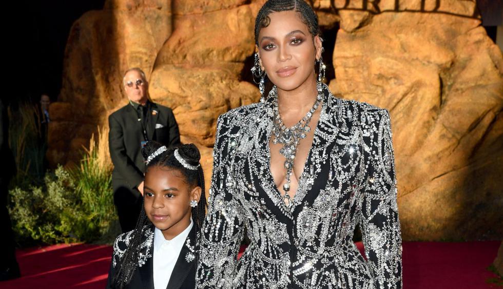 """Blue Ivy Carter, hija de Beyoncé y Jay-Z, debutó como cantante con el tema """"Brown Skin Girl"""". (Foto: AFP)"""