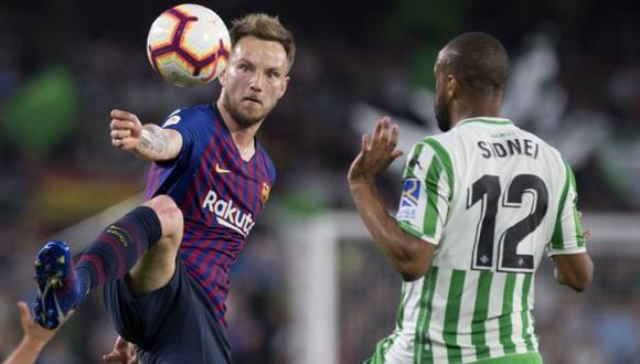 Barcelona recibe a Betis con serias bajas, entre ellas la de Messi. (Foto: AFP)