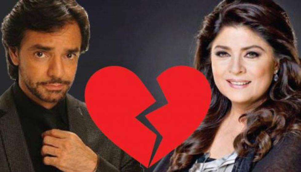 Victoria Ruffo y Eugenio Derbez (Getty Images)