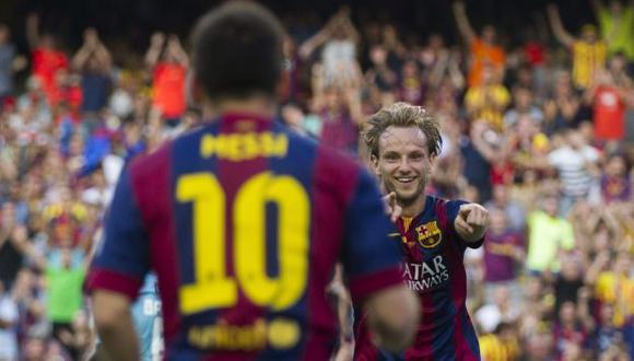 Rakitic se ha convertido en pieza fundamental del Barcelona.  (EFE)