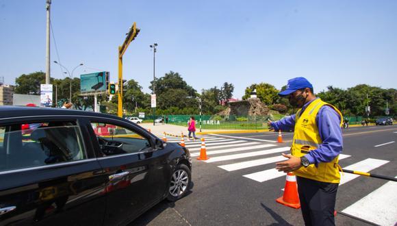 Durante los días de restricción vehicular en Jesús María por comicios solo se permitirá el acceso a los propietarios y/o residentes que viven en la zona intervenida. (Foto: Municipalidad de Lima)