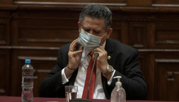 Bajo la lupa. Congresista Manuel Merino asumió el poder tras la vacancia de Martín Vizcarra. (GEC)
