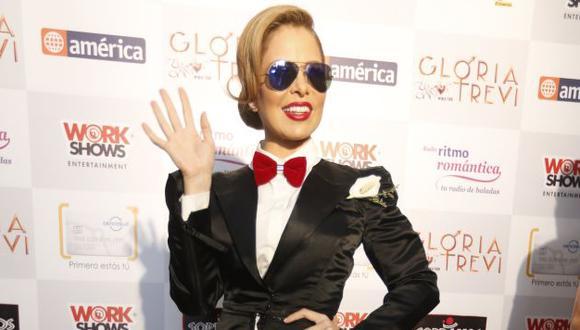 Gloria Trevi presenta espectáculo 'El amor' esta noche en el Jockey Club. (Mario Zapata)