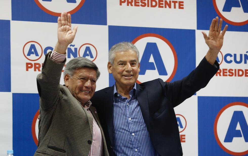 Alianza Para el Progreso, bancada de Villanueva, había confirmado mantenerse como oposición.