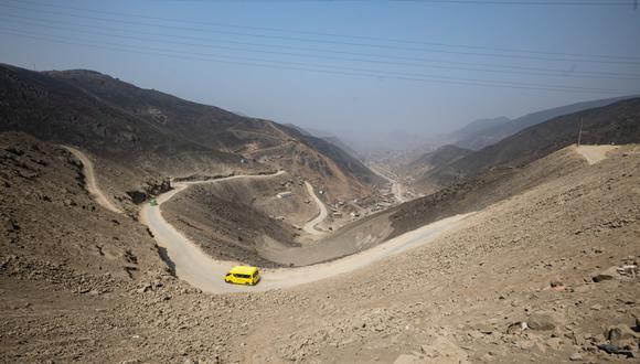 El Pasamayito es actualmente una trocha que une la zona de Collique, en Comas, y San Juan de Lurigancho. (Foto: Municipalidad de Lima)