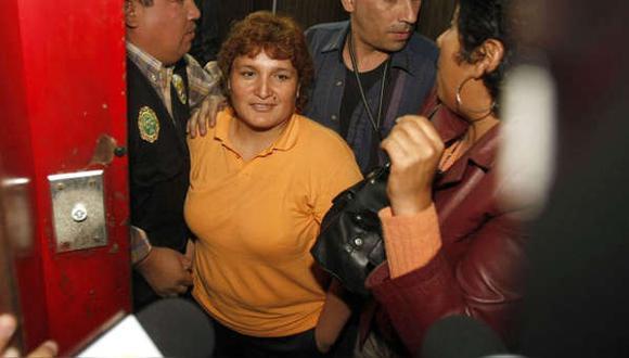 Vale precisar que Abencia Meza fue condenada a 30 años de prisión en el 2012 y en el 2013 la sentencia fue ratificada en segunda instancia. (Foto: Andina)