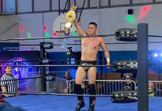 """El luchador peruano """"Rayo"""" acaba de convertirse en campeón en Estados Unidos"""