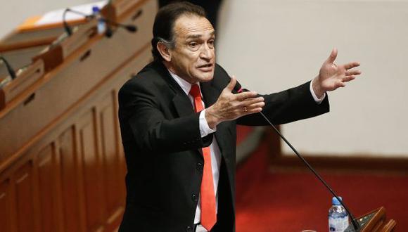 Héctor Becerril, congresista integrante de la comisión Madre Mía. (Perú21)