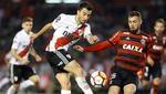 River y Flamengo enfrentándose en Libertadores. (GETTY)