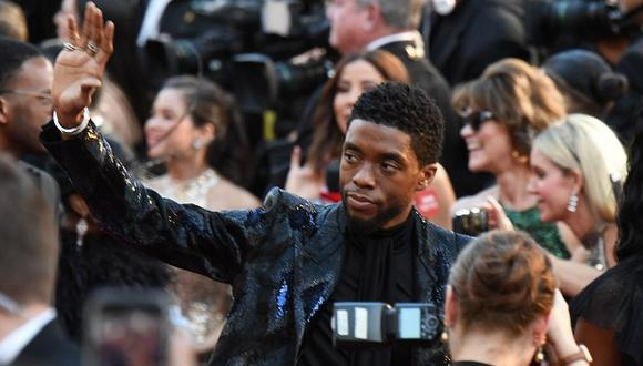 El actor Chadwick Boseman no hizo alguna referencia directa sobre el cáncer de colon que le fue diagnosticado en el 2016. (Foto: AFP)