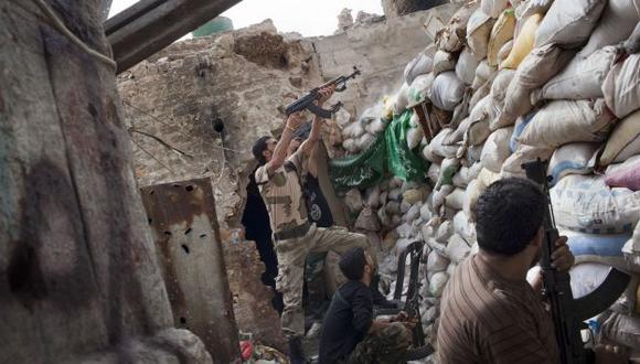 AL ROJO VIVO. Combates se intensifican en Siria antes de negociaciones en las Naciones Unidas. (AFP)