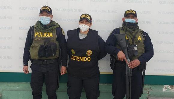 Policía capturó a extranjera que utilizaba el uniforme de la institución. (PNP)