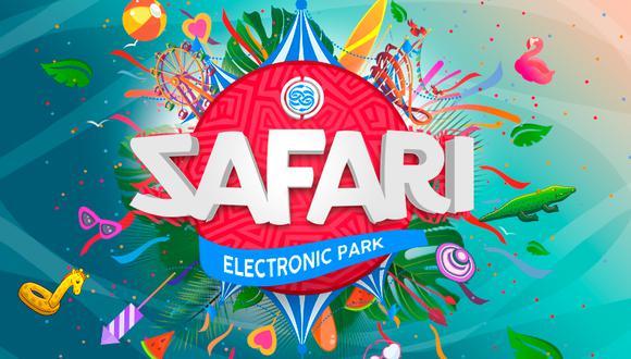 Este el logo especial del Safari Electronic Park. (Facebook)