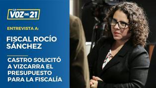 Habla Fiscal Rocío Sánchez sobre reunión con Martín Vizcarra