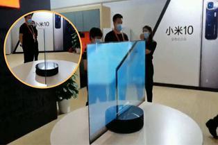 China: presentan novedoso televisor transparente