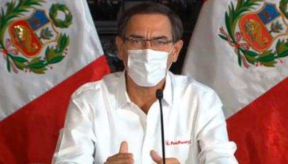 Presidente se encuentra coordinando acciones para la segunda etapa de la emergencia. (Foto: Presidencia de la República)