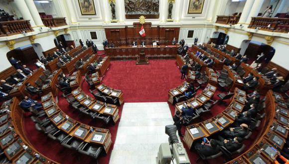 Congreso realiza Pleno para elegir a miembros de Mesa Directiva. (Foto: Congreso)