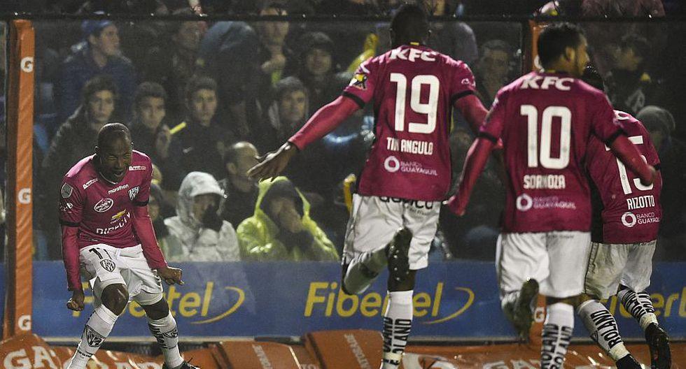 Independiente del Valle venció 3-2 a Boca Juniors y disputará título de la Copa Libertadores 2016. (AFP)
