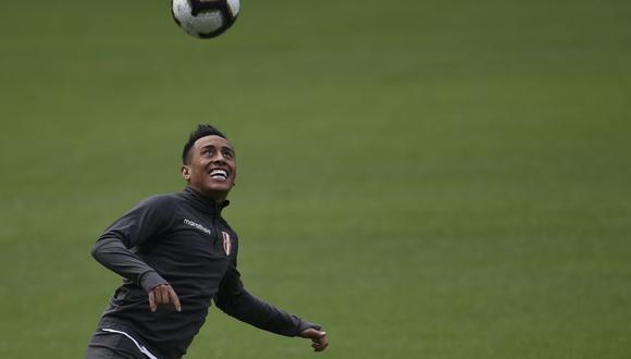 Christian Cueva recupera la sonrisa. (Foto: AFP)