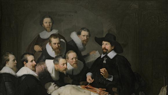 Lección de Anatomía del profesor Tulp, de Rembrandt.