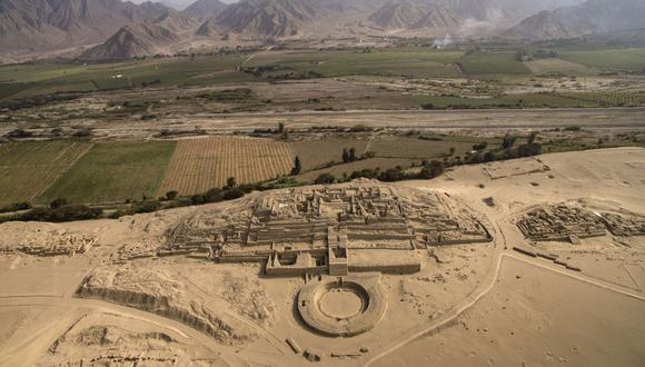 Tanto la Ciudad Sagrada como los sitios arqueológicos de Áspero y Vichama recibirán a los turistas con aforo reducido y en medio de medidas de bioseguridad. (Foto: Ministerio de Cultura)