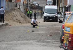 SJM: Sicarios asesinan a balazos a dos dirigentes y a un obrero de construcción