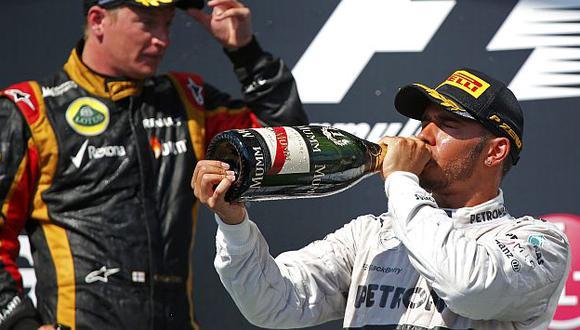 Lewis Hamilton va cuarto en el Mundial de Fórmula 1. (Reuters)