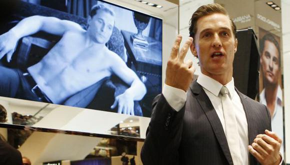 Matthew McConaughey tendrá papel protagónico en el filme de Christopher Nolan. (AP)