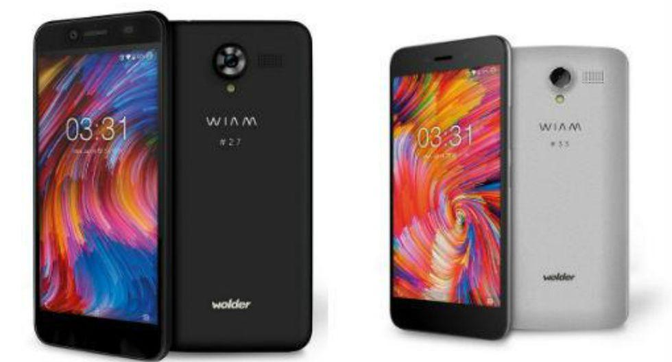 WOLDER WIAM #27: Tiene una memoria de 16 GB   microSD, una cámara de 13 MP con LED, y esta valorado en €92 euros, lo cuál equivale alrededor de S/ 354 soles. (Wolder Wiam)